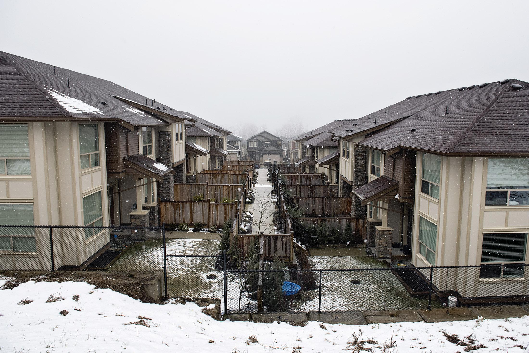 snow-subdivision development